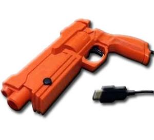 Zapper Gun Red - Sega Saturn Accessory