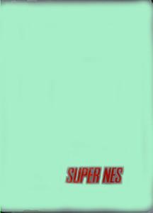 SNES Game Hard Plastic Case Green - 1 ct