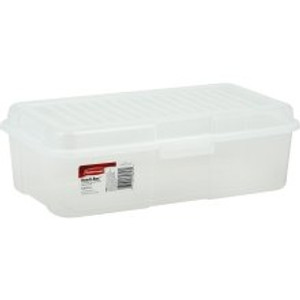 Clear Plastic Snap Storage Case 1.5 gal