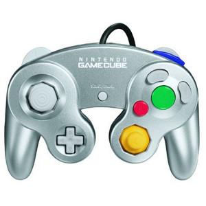 Original Platinum Controller - GameCube / Wii