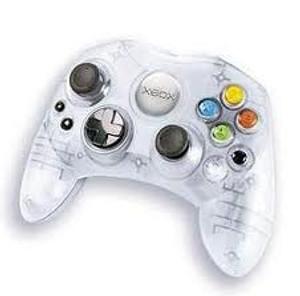 Original S Controller Clear - Xbox