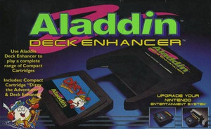 Aladdin Deck Enhancer with Game for your Nintendo NES Gaming System