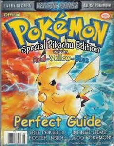 Strategy Guide Pokemon Red Yellow Blue - Game Boy