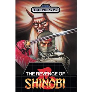 Revenge of Shinobi Empty Box For Sega Genesis