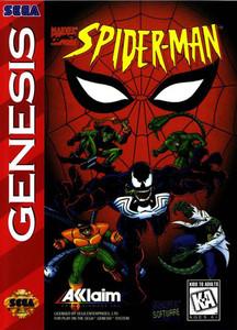 Spider-Man 1994 - Empty Genesis Box
