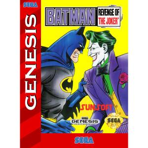 Batman Revenge of the Joker Empty Box For Sega Genesis