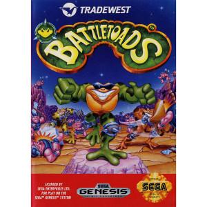 Battletoads  Empty Box For Sega Genesis