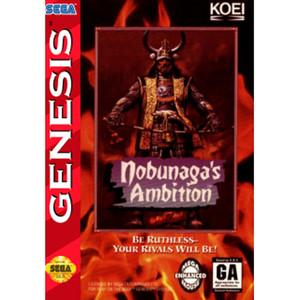 Nobunaga's Ambition Empty Box For Sega Genesis