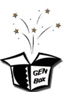 Jeopardy! Deluxe - Empty Genesis Box