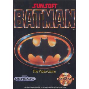 Batman Empty Box For Sega Genesis