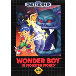 Wonder Boy In Monster World Empty Box For Sega Genesis