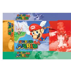 Super Mario 64 Empty Box For Nintendo N64