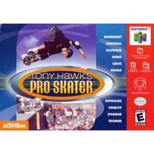 Tony Hawk's Pro Skater N64 Empty Box For Nintendo N64