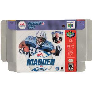 Madden 2001 - Empty N64 Box