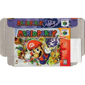 Mario Party - Empty N64 Box