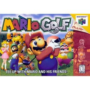 Mario Golf N64 Empty Box For Nintendo N64