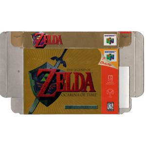 Legend of Zelda Ocarina of Time CE - Empty N64 Box