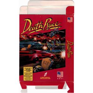 Death Race - Empty NES Box