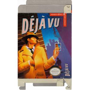 DeJa Vu - Empty NES Box