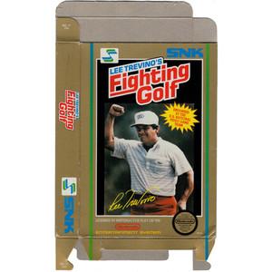 Lee Trevino's Fighting Golf - Empty NES Box