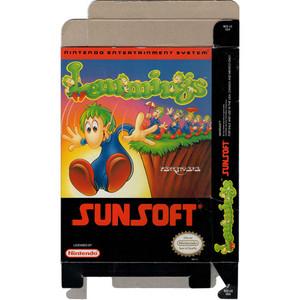 Lemmings - Empty NES Box