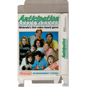 Anticipation - Empty NES Box