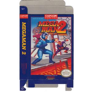 Mega Man 2 - Empty NES Box