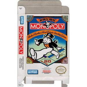 Monopoly - Empty NES Box