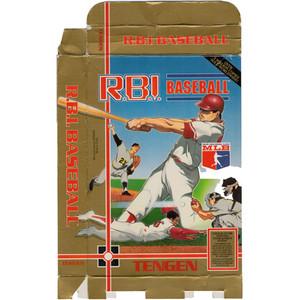R.B.I. Baseball (Tengen) - Empty NES Box