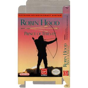 Robin Hood Prince of Thieves - Empty NES Box