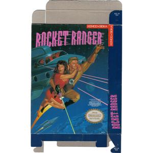 Rocket Ranger - Empty NES Box