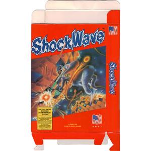 Shock Wave (Shockwave) - Empty NES Box