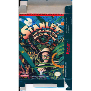 Stanley The Search for Dr. Livingston Empty Box For Nintendo NES