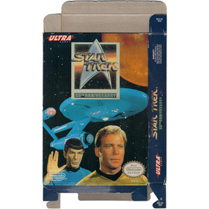 Star Trek 25th Anniversary - Empty NES Box