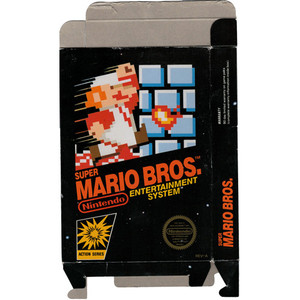 Super Mario Bros. - Empty NES Box
