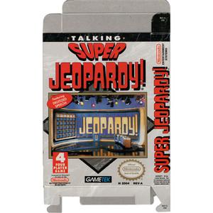 Super Jeopardy! - Empty NES Box