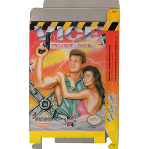 Vice Project Doom - Empty NES Box