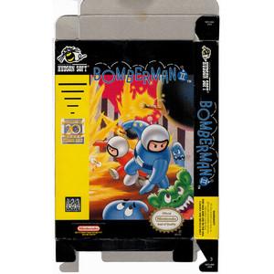 Bomberman II - Empty NES Box
