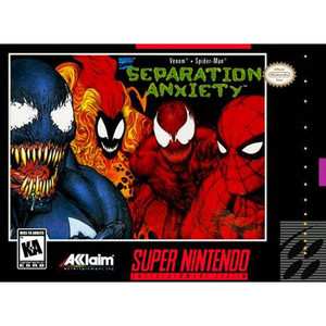 Death and Return of Superman, The - Empty SNES Box