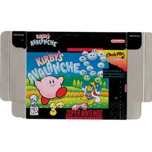 Kirby's Avalanche - Empty SNES Box