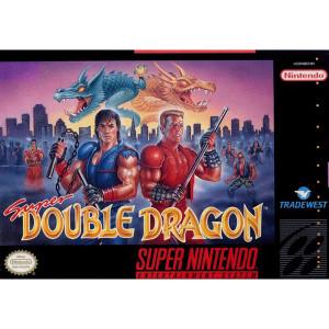Super Double Dragon Empty Box For Nintendo SNES
