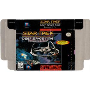 Star Trek Deep Space Nine - Empty SNES Box