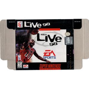 NBA Live 98 - Empty SNES Box