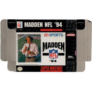 Madden NFL '94 - Empty SNES Box