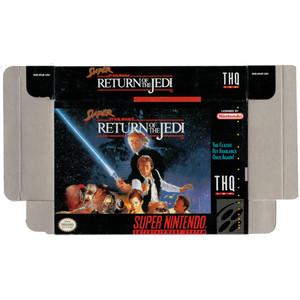 Super Return of the Jedi - Empty SNES Box