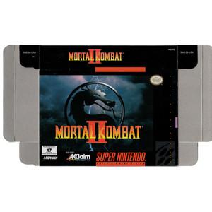 Mortal Kombat II - Empty SNES Box