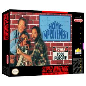Home Improvement Empty Box For Nintendo SNES