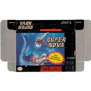Super Nova - Empty SNES Box