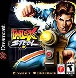 Complete Max Steel Covert Missions  - Dreamcast Game