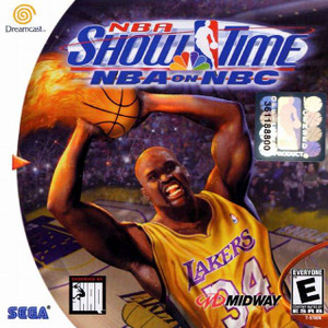 NBA Show Time on NBC - Dreamcast Game